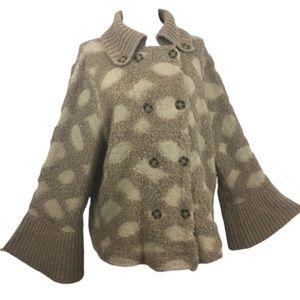 Anthropologie Rosie Neim Neira Yarn Sweater Size M